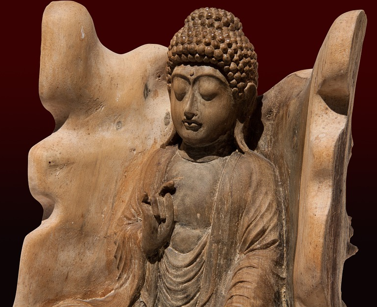 Buddha Figuren Holz